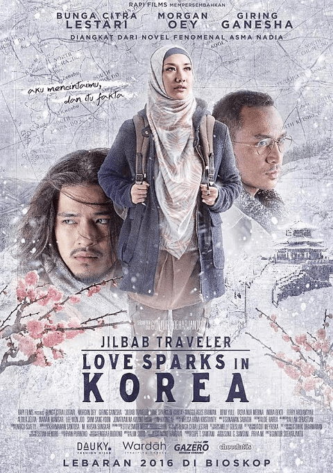 Jilbab Traveler: Love Sparks in Korea (2016)